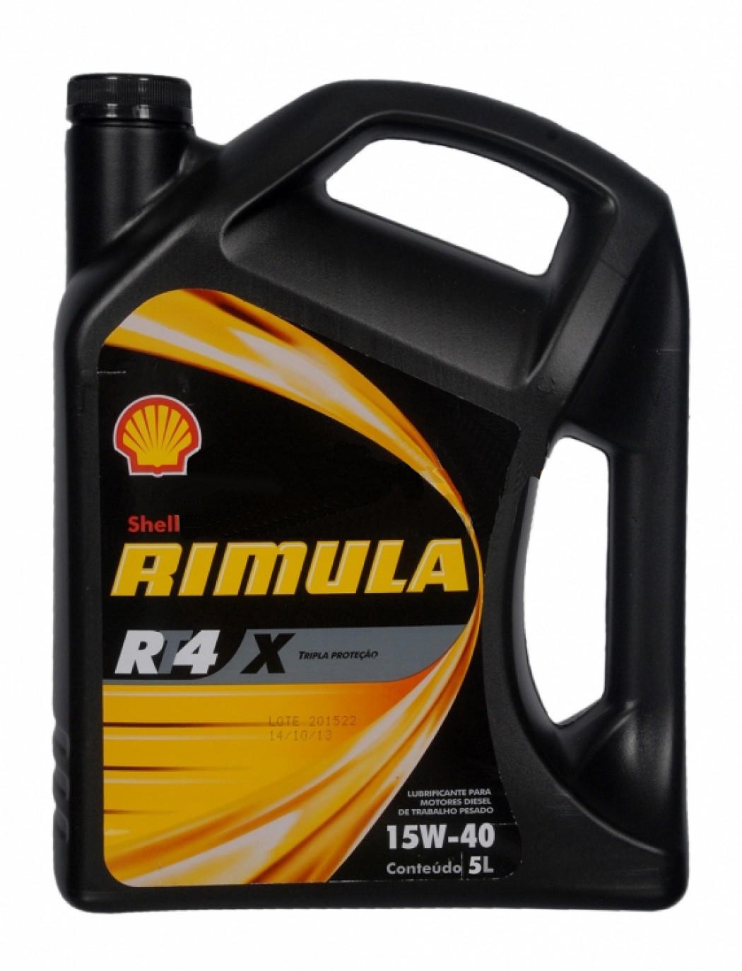 Shell Rimula X 15W40