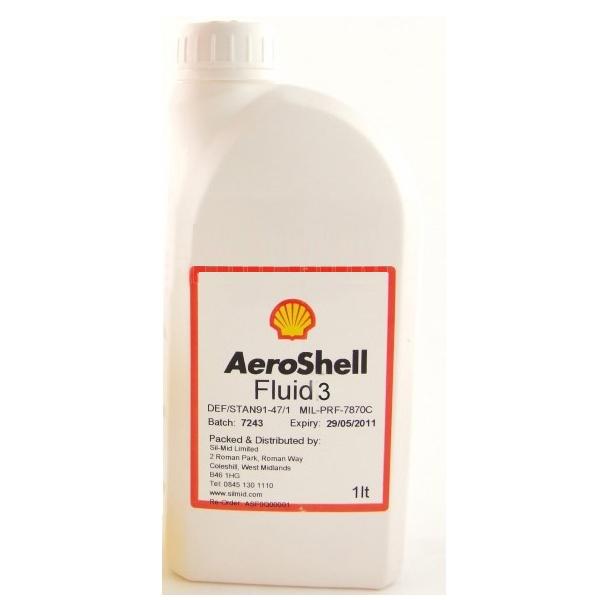 Aeroshell Fluid 3 1ltr